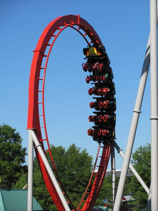 Vortex photo from Carowinds