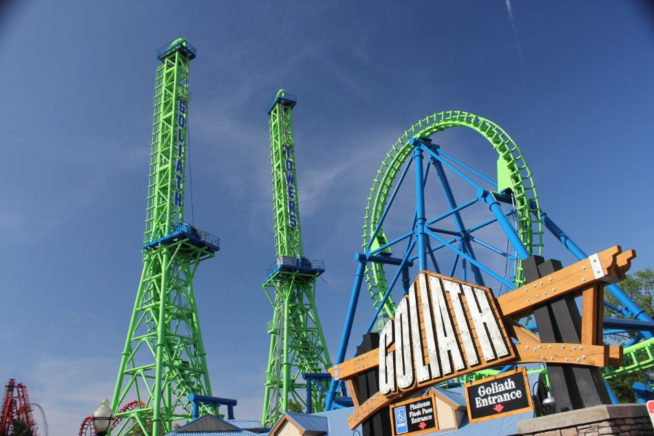 goliath photo from six flags new england photo 2 of 2 more goliath 5s2IwhrR