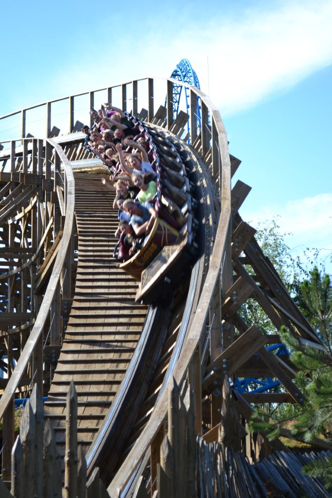 Wodan Timbur Coaster photo from Europa Park