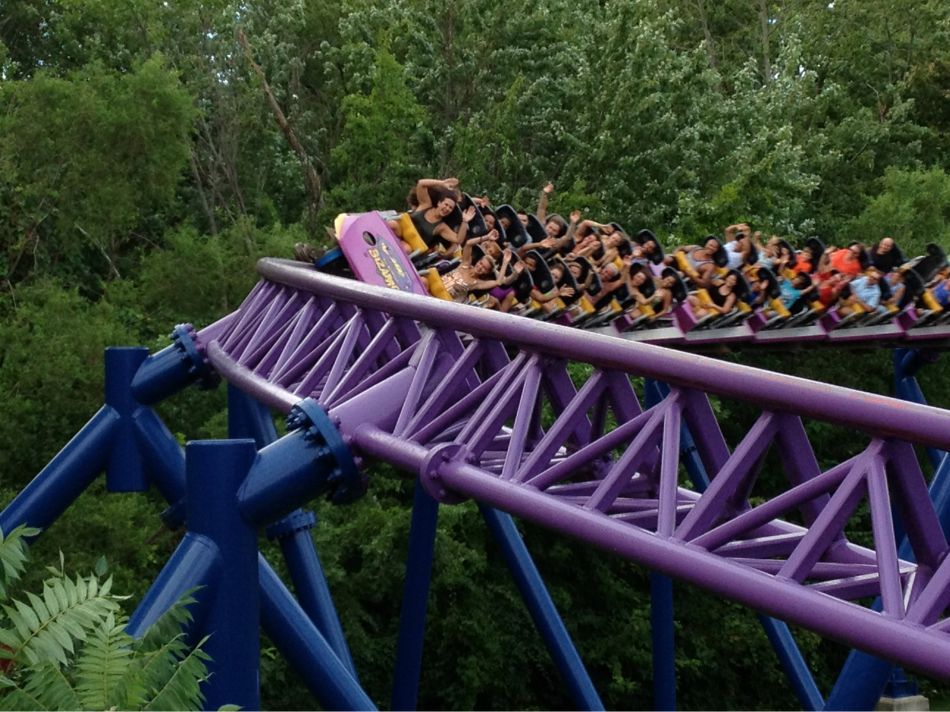 Bizarro photo from Six Flags New England