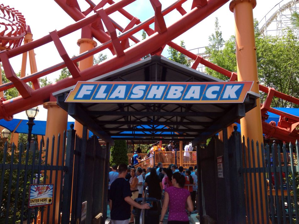 Flashback photo from Six Flags New England