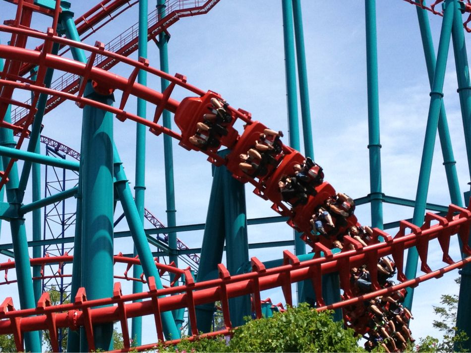 Mind Eraser photo from Six Flags New England