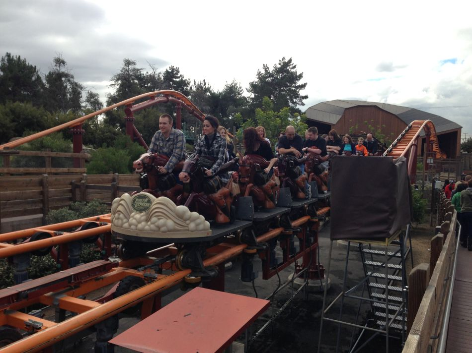 Pony Express photo from Knott's Berry Farm
