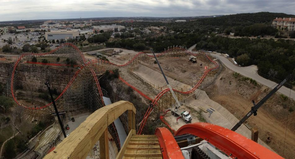 Iron Rattler photo from Six Flags Fiesta Texas