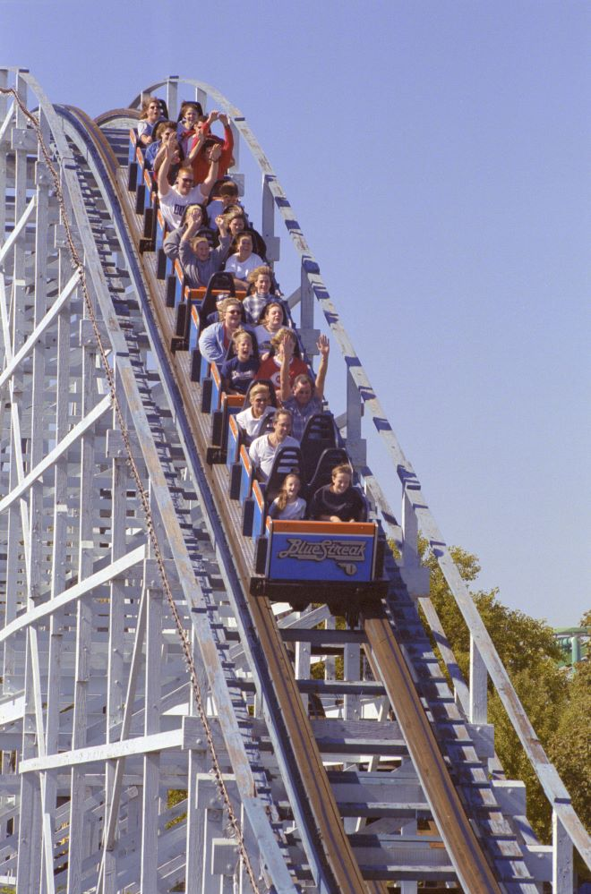 Blue Streak photo from Cedar Point