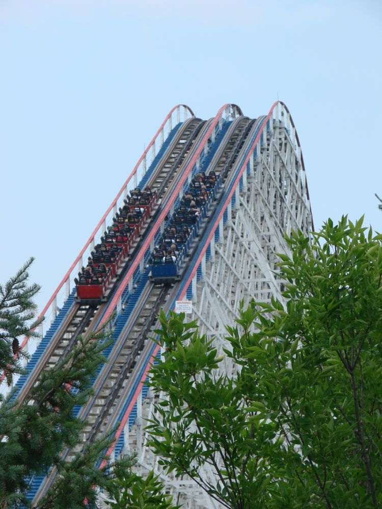 American Eagle photo from Six Flags Great America