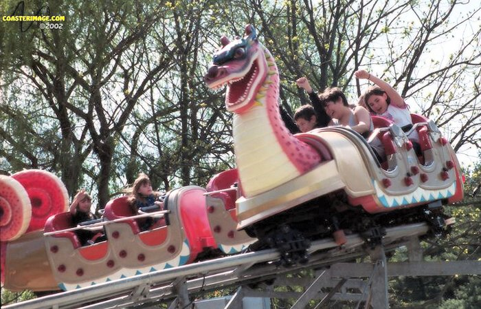 Dragon Coaster photo from Dorney Park