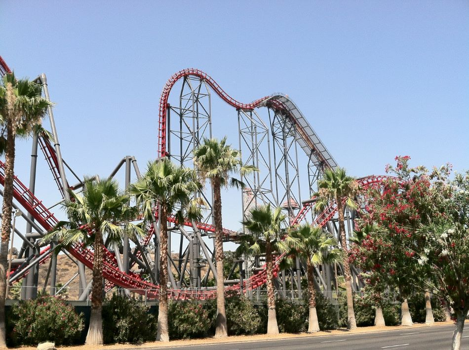 X2 photo from Six Flags Magic Mountain