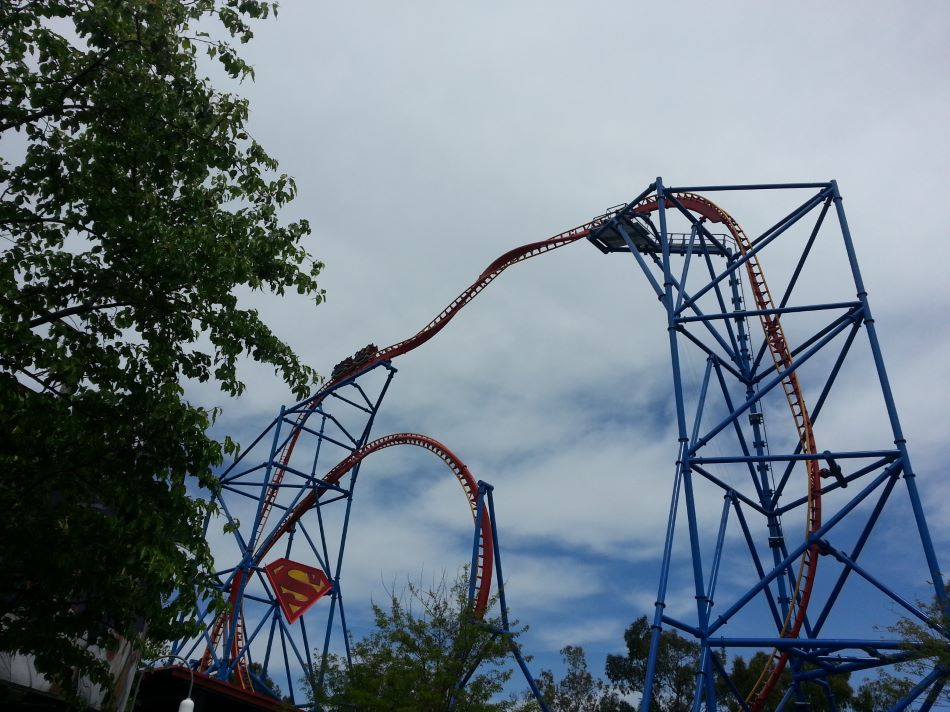 Superman Ultimate Flight photo from Six Flags Discovery Kingdom