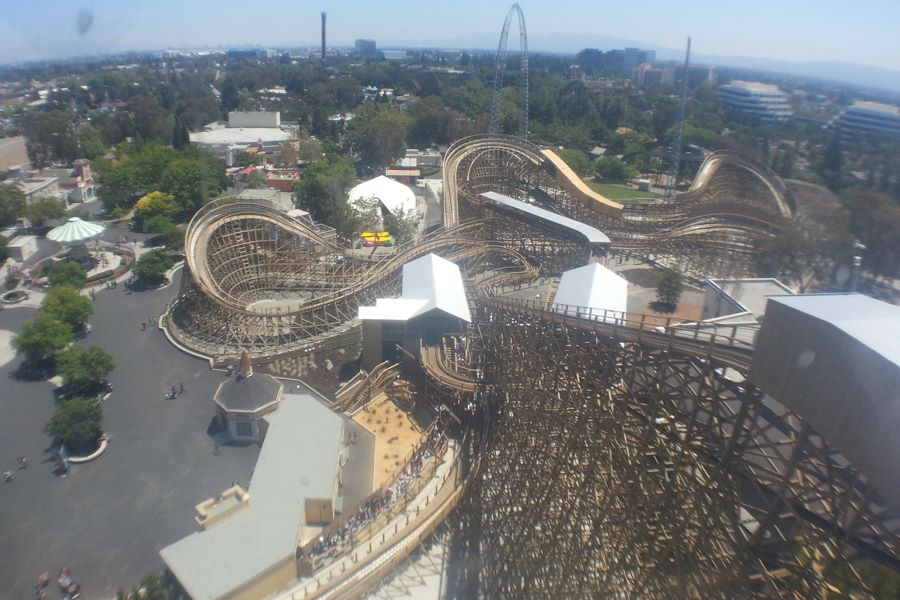Gold Striker photo from California's Great America
