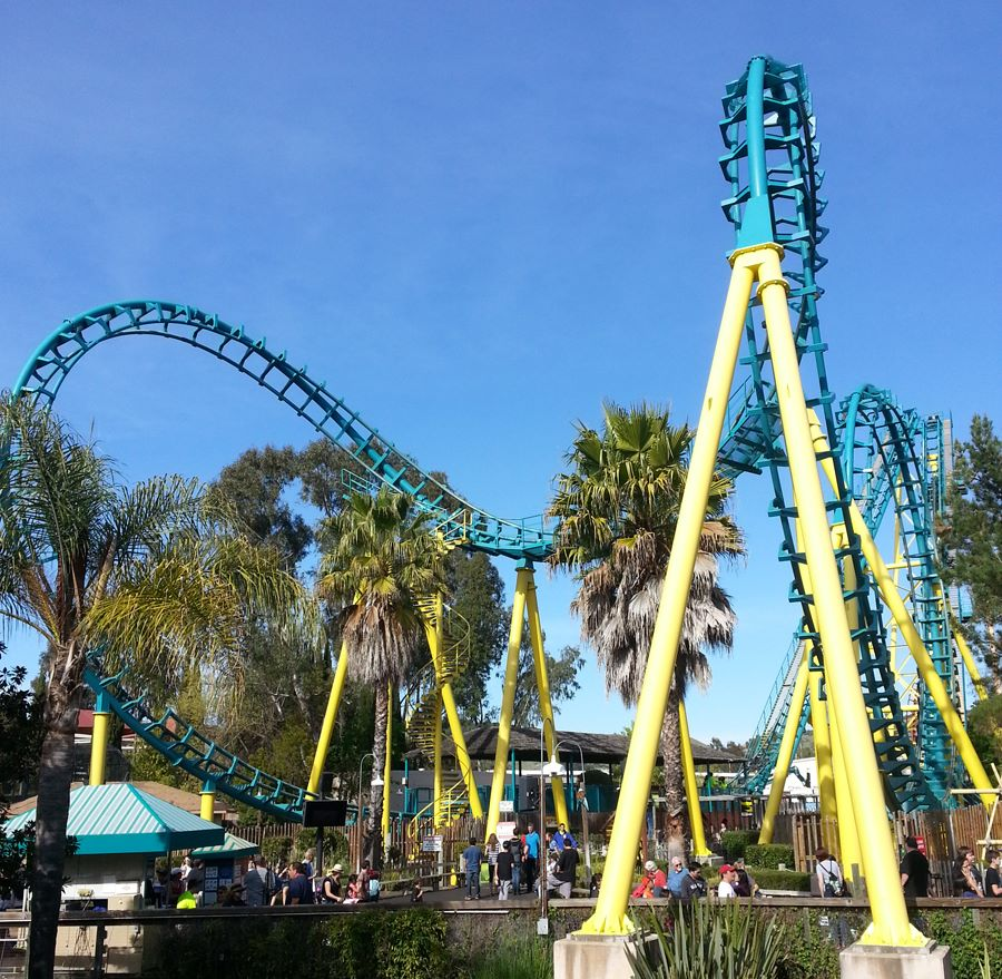Boomerang photo from Six Flags Discovery Kingdom