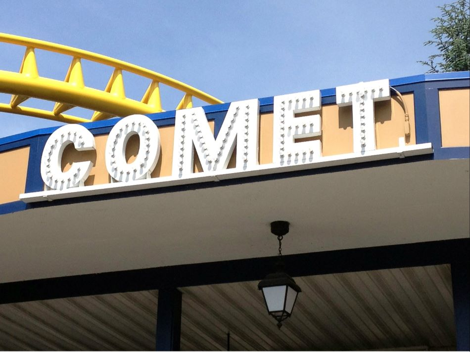 Comet photo from Hersheypark