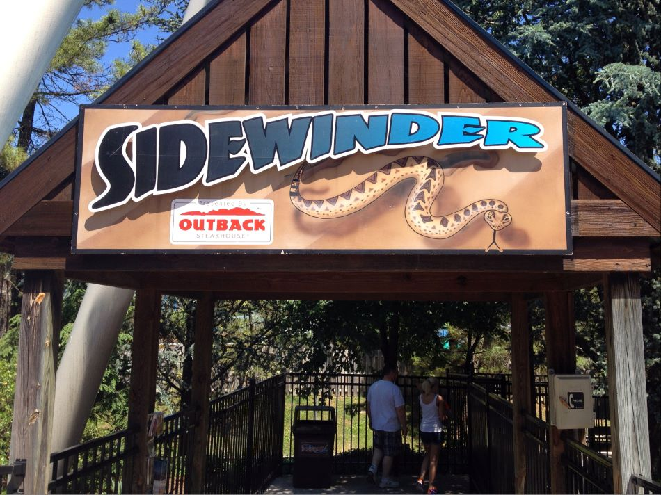 Sidewinder photo from Hersheypark