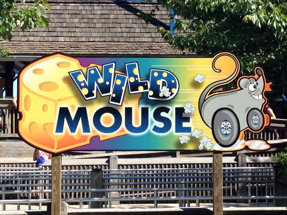 Wild Mouse photo from Hersheypark