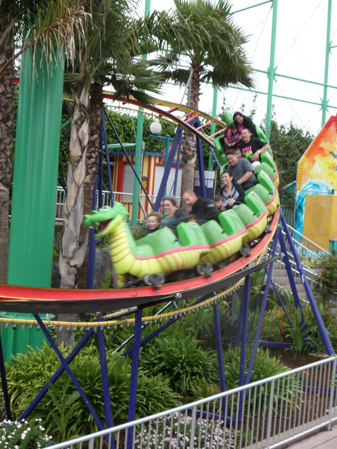Sea Serpent photo from Santa Cruz Beach Boardwalk