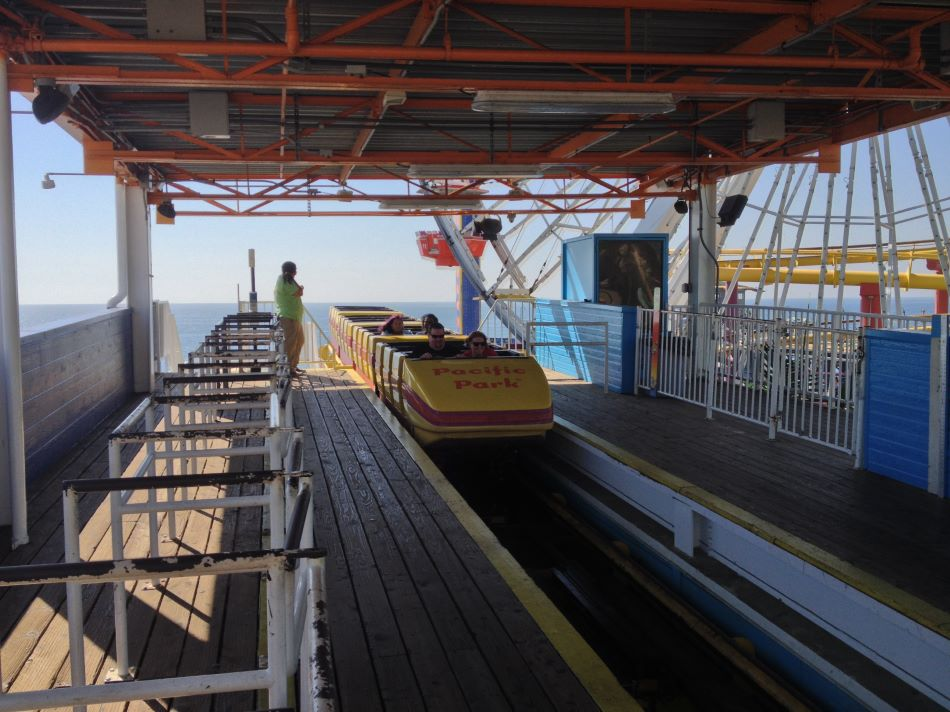Santa Monica West Coaster photo from Pacific Park