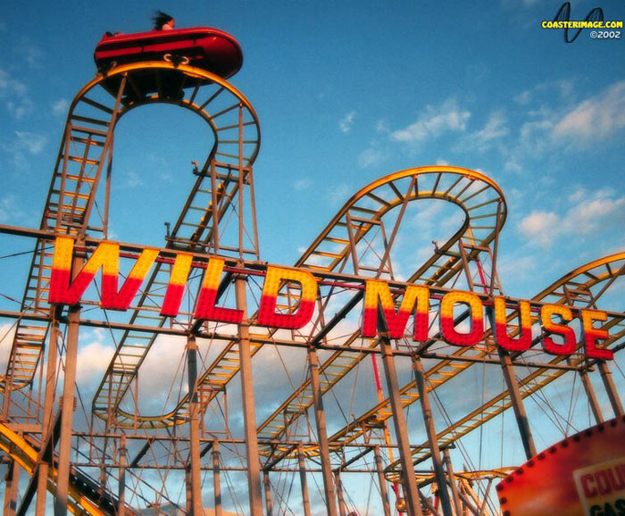 Wild Mouse photo from Casino Pier