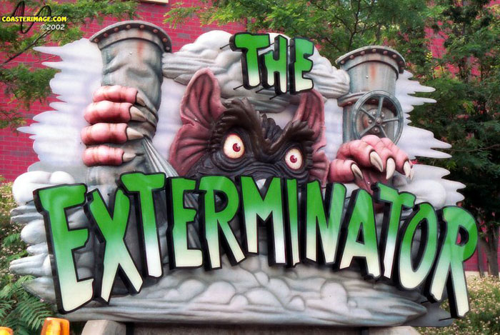 Exterminator, The photo from Kennywood