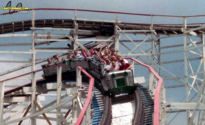 Thunderbolt photo from Kennywood