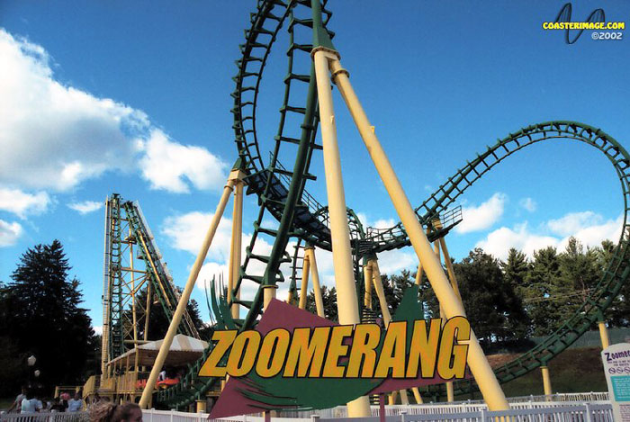 Zoomerang photo from Lake Compounce