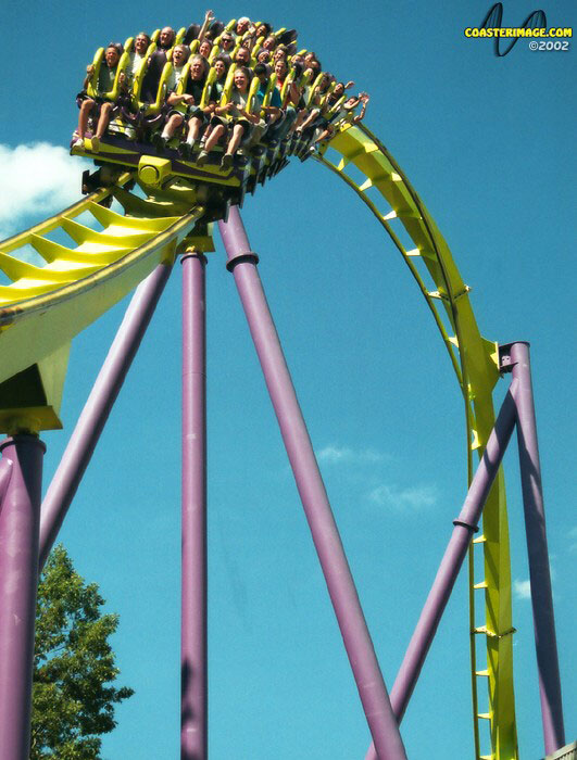 Medusa photo from Six Flags Great Adventure