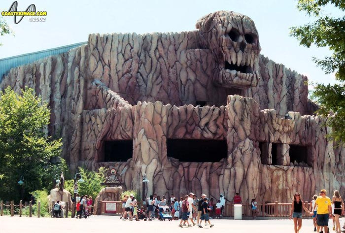 Skull Mountain photo from Six Flags Great Adventure