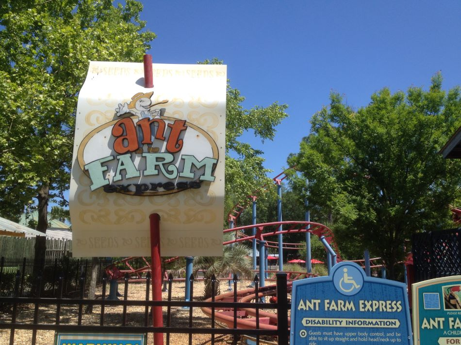 Ant Farm Express photo from Wild Adventures