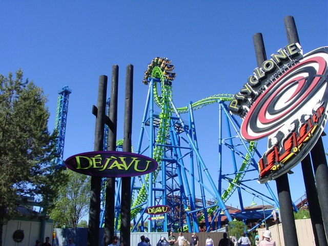 Deja Vu photo from Six Flags Magic Mountain