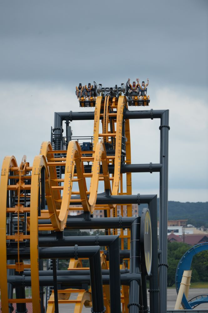 Batman: The Ride photo from Six Flags Fiesta Texas