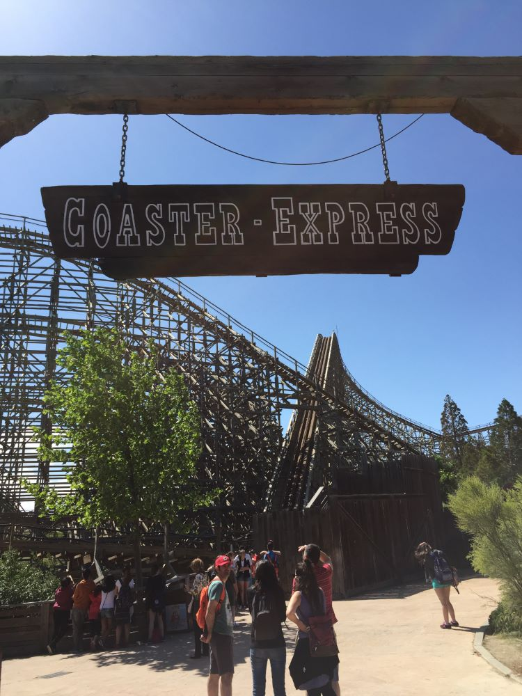Coaster Express photo from Warner Bros. Movie World Madrid