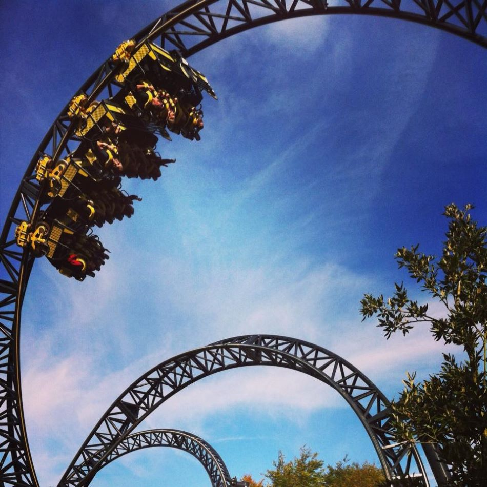 Smiler photo from Alton Towers
