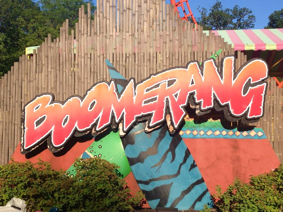 Boomerang photo from Worlds of Fun