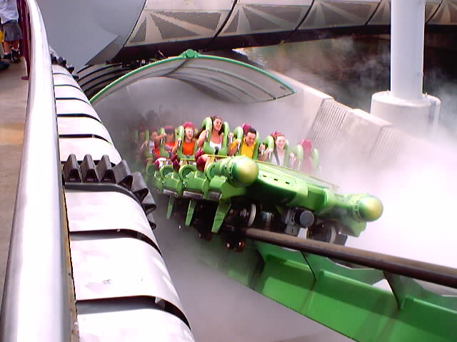 Incredible Hulk, The photo from Islands of Adventure