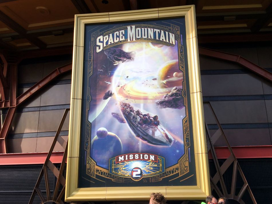 Space Mountain - De la Terre à la Lune photo from Disneyland Paris