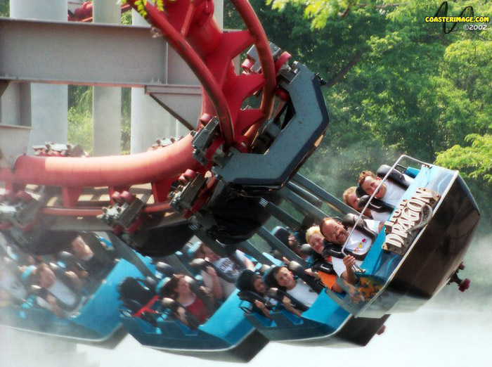 Iron Dragon photo from Cedar Point