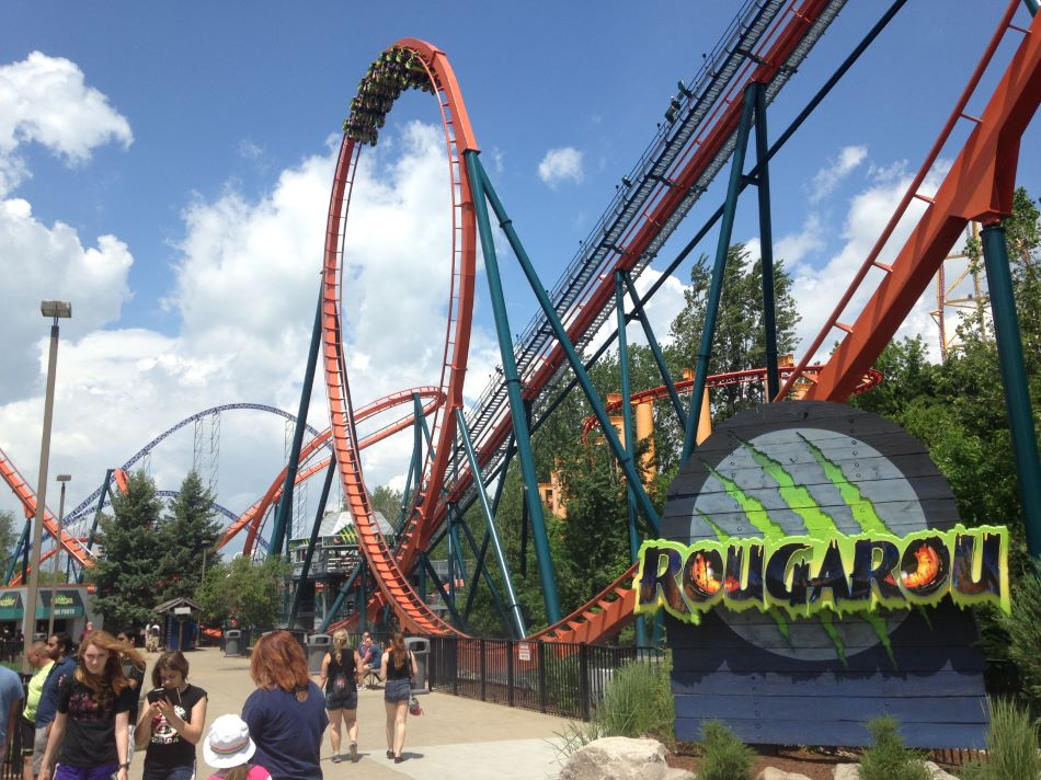 Rougarou photo from Cedar Point