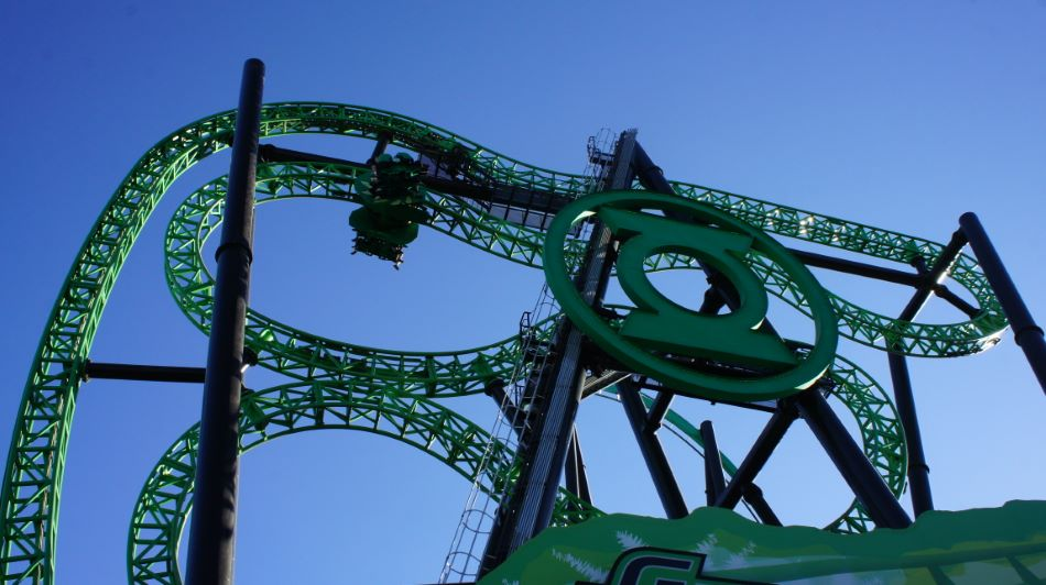 Green Lantern: First Flight photo from Six Flags Magic Mountain
