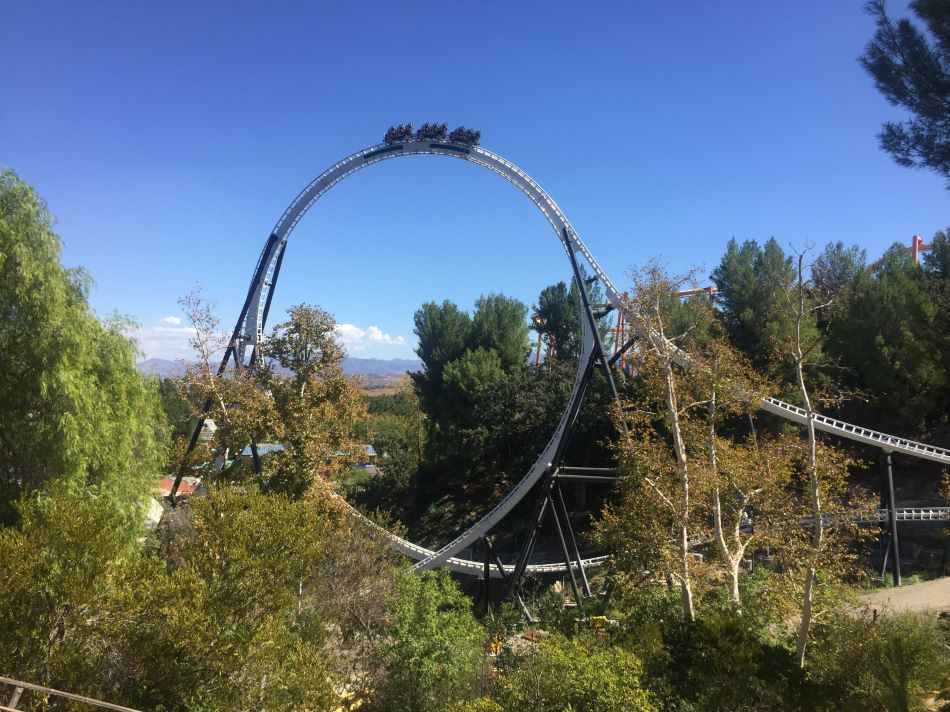 Full Throttle photo from Six Flags Magic Mountain