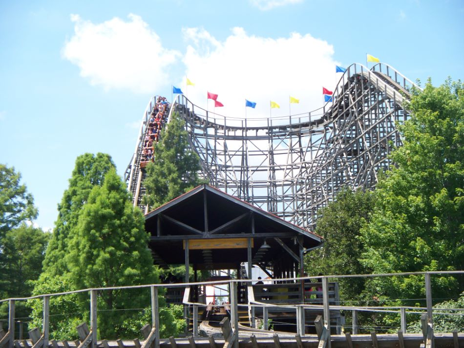 Thunder Run photo from Kentucky Kingdom