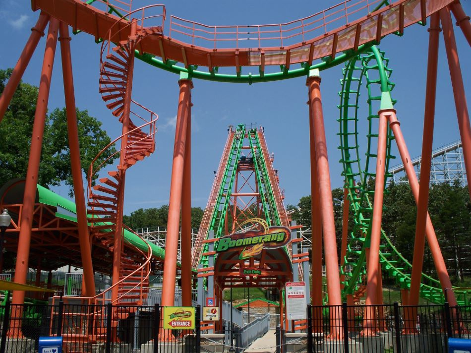 Boomerang photo from Six Flags St. Louis