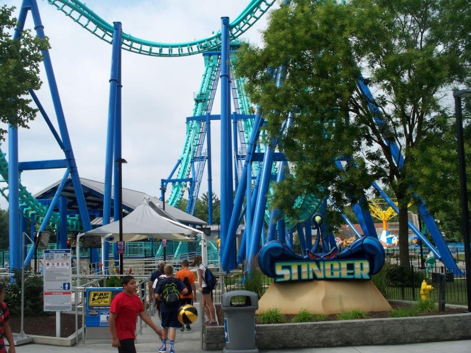 Stinger photo from Dorney Park