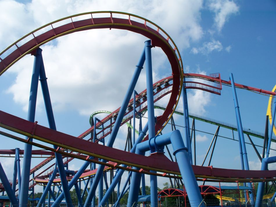 Superman Ultimate Flight photo from Six Flags Great ...