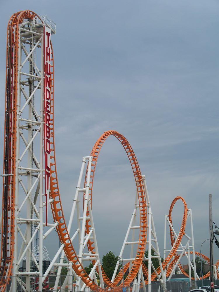 Thunderbolt photo from Luna Park at Coney Island