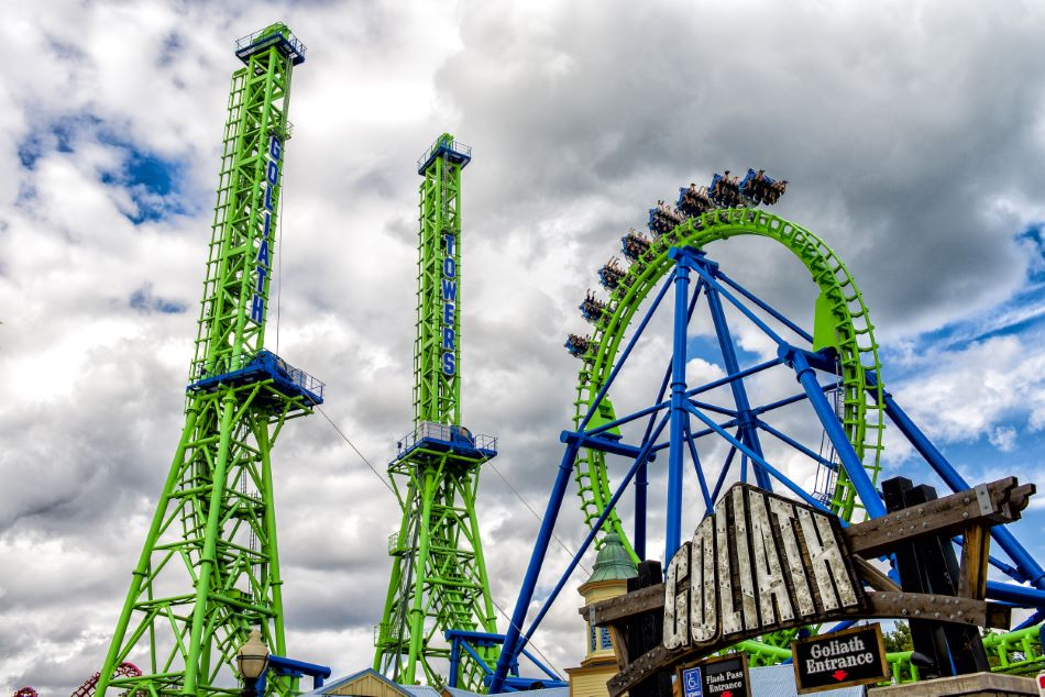 Goliath photo from Six Flags New England