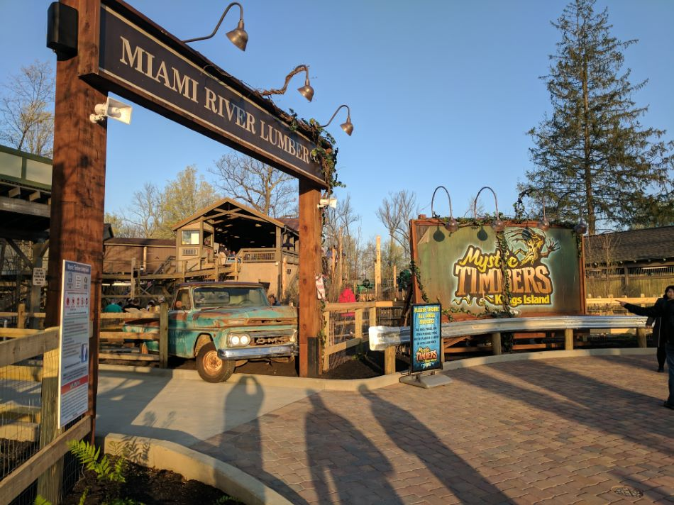 Mystic Timbers photo from Kings Island