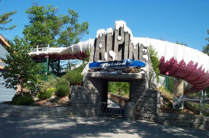 Alpine Bobsled photo from Great Escape, The - CoasterBuzz