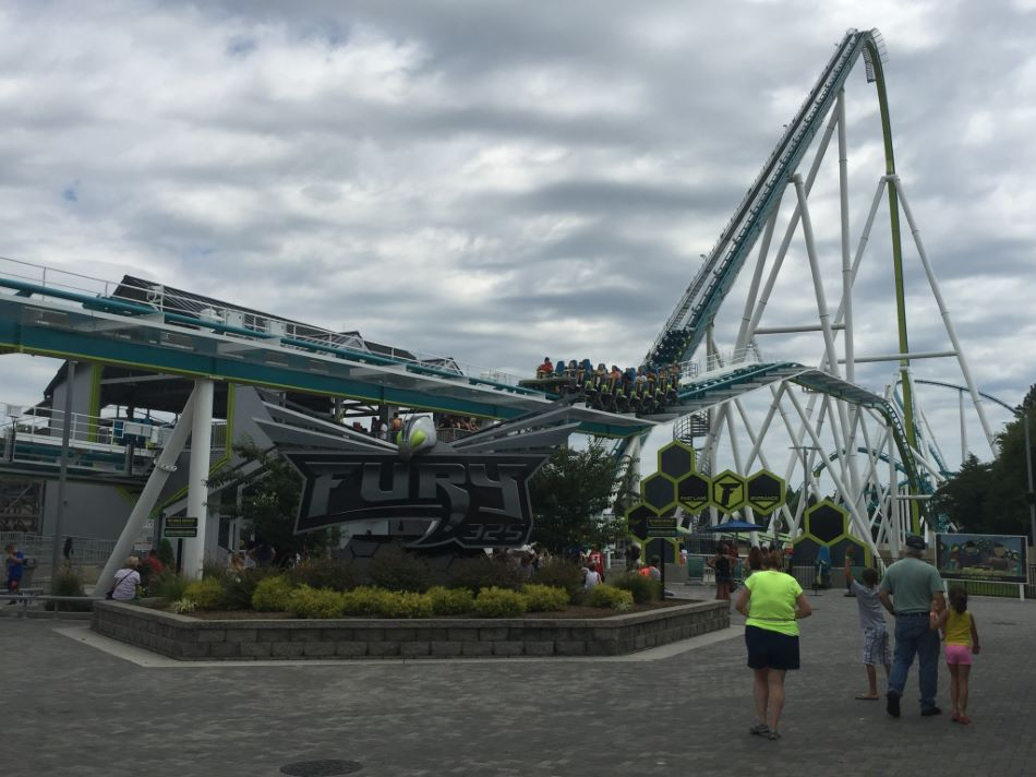 Fury 325 photo from Carowinds