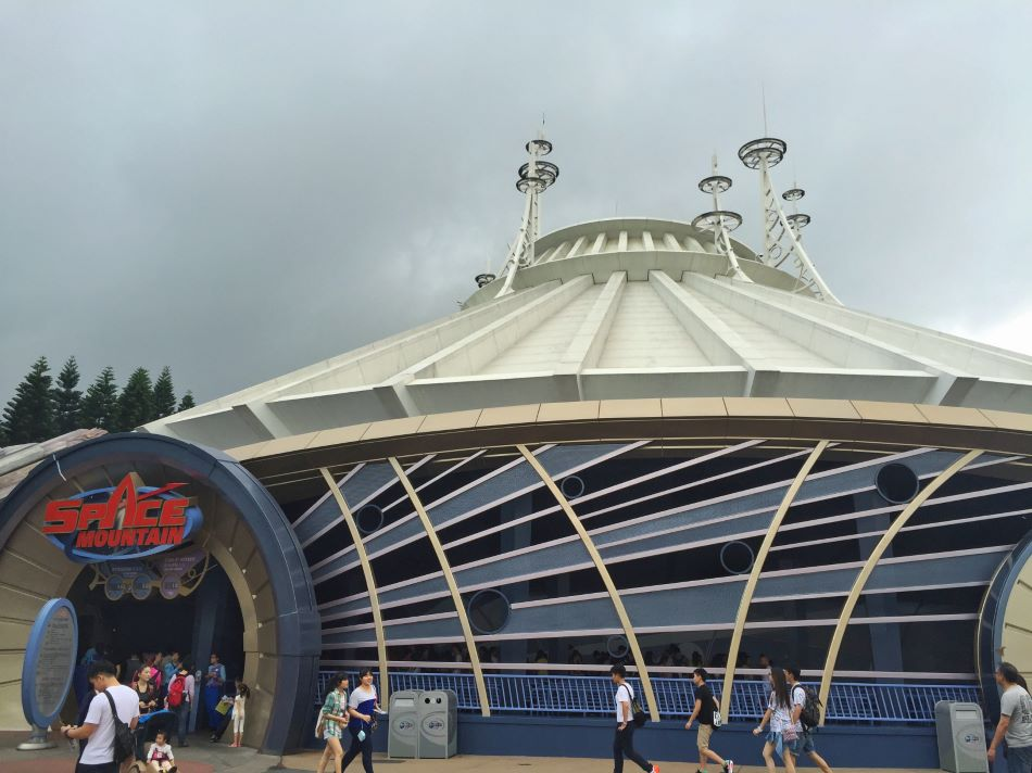 Space Mountain photo from Hong Kong Disneyland