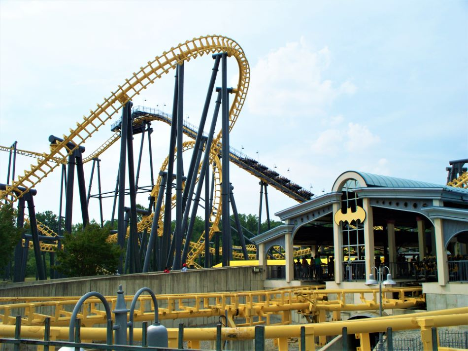 Batwing photo from Six Flags America