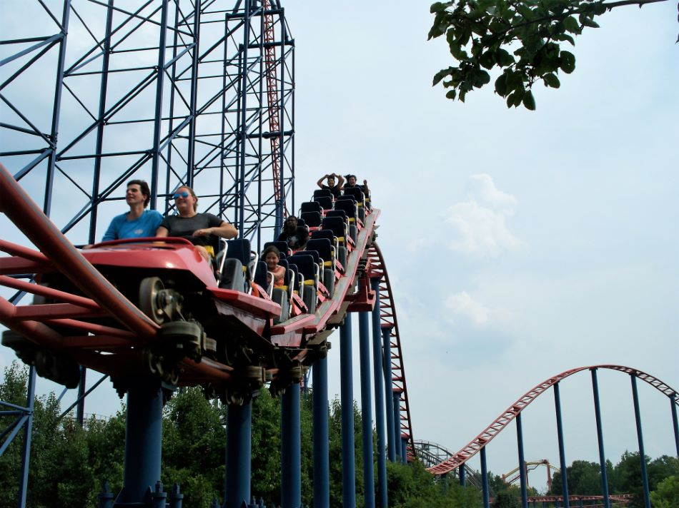 Superman: Ride of Steel photo from Six Flags America ...